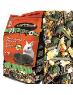 Comida para conejos enanos 1kg