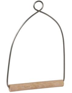 Columpio con madera 13cm