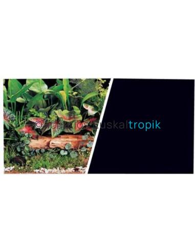 Poster plantas + negro 2 caras 60cm