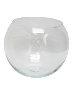 Pecera redonda de cristal 2,5l