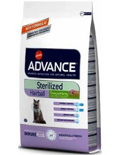 Advance Hairbal Sterilizados 1,5kg