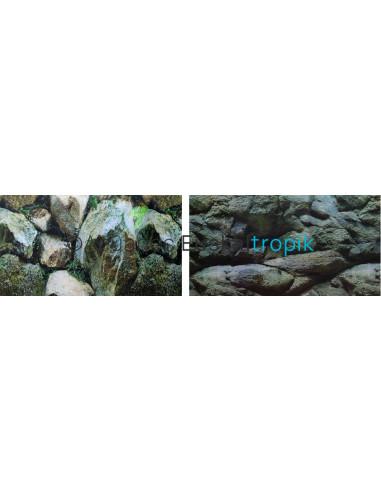 Poster piedras + piedras 2 caras 50cm
