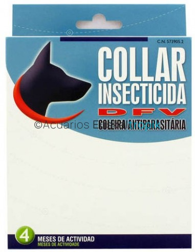 Collar antiparasitario