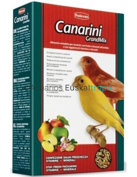Comida canarios