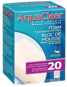 Esponja aqua clear