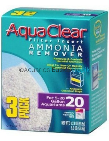 Anti amoníaco Aqua Clear