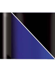Poster azul degradado y negro