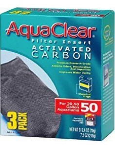 Carbón Aqua Clear 3 unidades