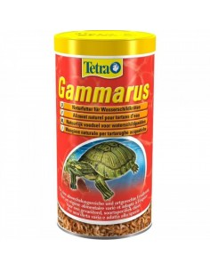 Comida tortugas gambas