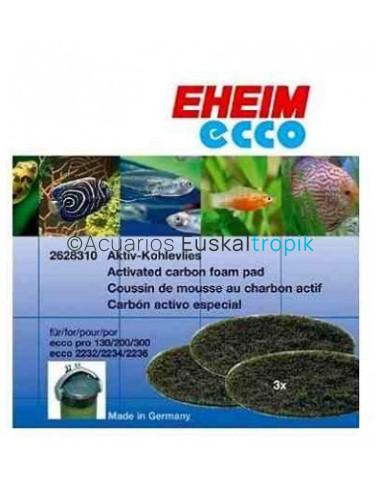 Eheim Ecco esponja carbón 2232/34/36