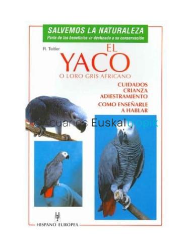 El Yaco o Loro gris Africano