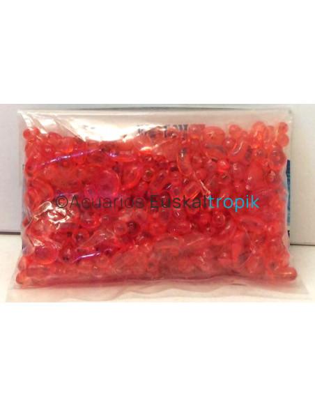 Mini piedras de plástico