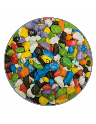 Grava de colores 7mm