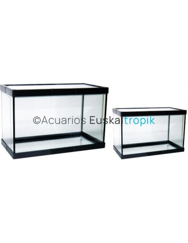 Urna de cristal con marco