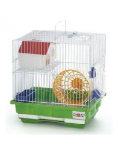 Jaula hamster nº2 moly (color rosa)