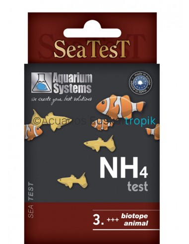 Test nh4 aquariumsystems