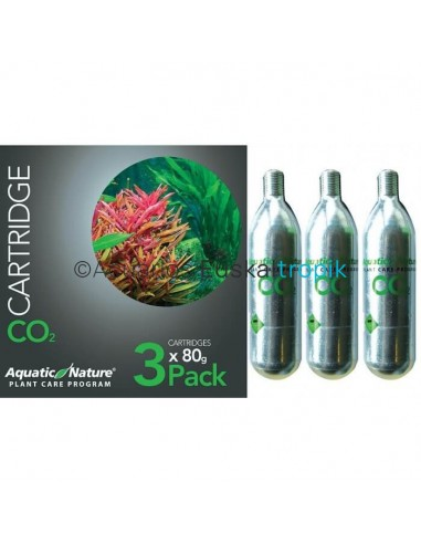 Co2 botella pack 3