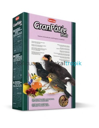 Comida insectívoros GranPâtée frutas