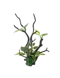 Tronco con plantas L3 35.5cm