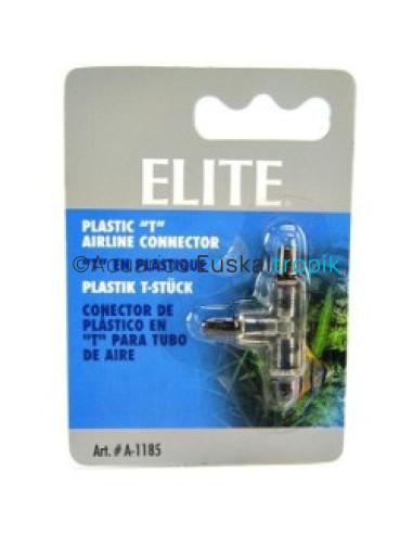Unión en T de plástico Elite