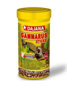 Comida para tortugas en sticks con gammarus